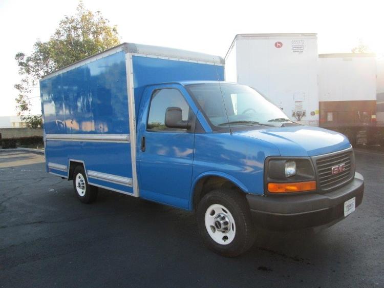 Light Duty Box Truck-Light and Medium Duty Trucks-GMC-2010-Savana G33503-TORRANCE-CA-97,991 miles-$16,000