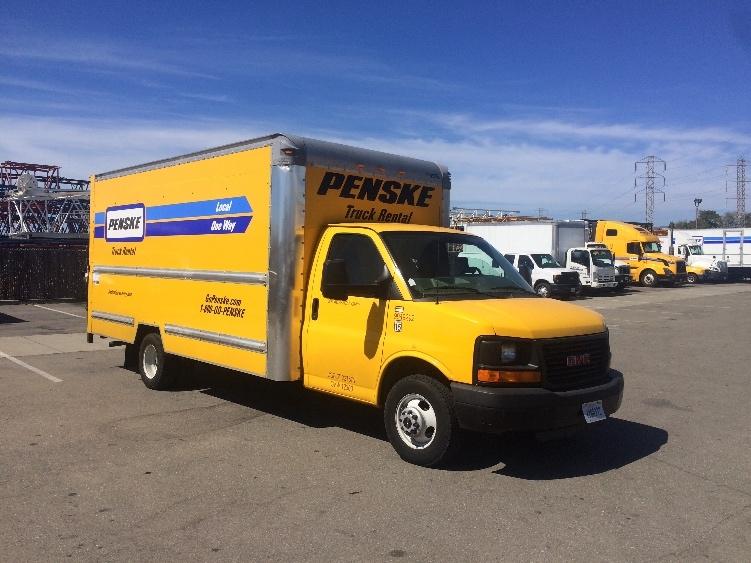 Light Duty Box Truck-Light and Medium Duty Trucks-GMC-2011-Savana G33903-SANTA ROSA-CA-101,164 miles-$15,250
