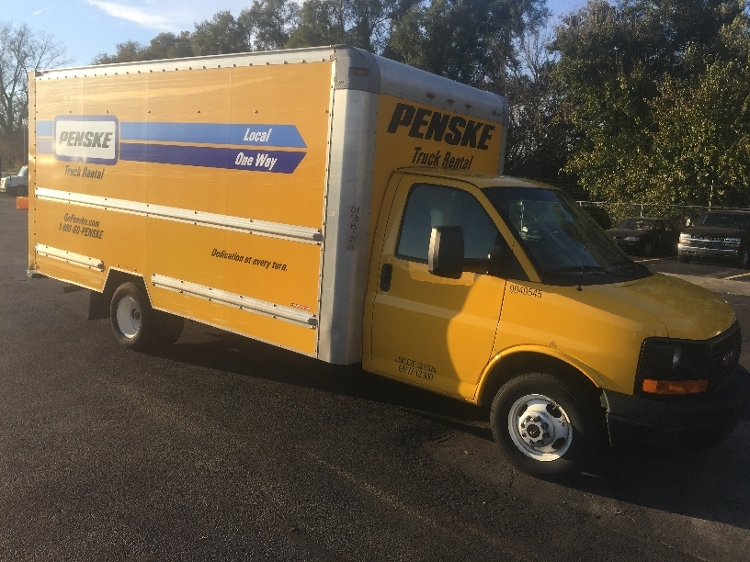 Light Duty Box Truck-Light and Medium Duty Trucks-GMC-2011-Savana G33903-INDIANAPOLIS-IN-134,807 miles-$11,250