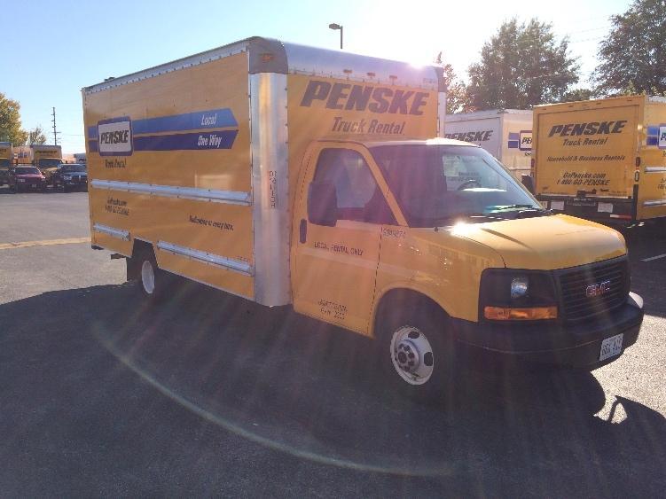 Light Duty Box Truck-Light and Medium Duty Trucks-GMC-2011-Savana G33903-KANSAS CITY-MO-121,938 miles-$12,750