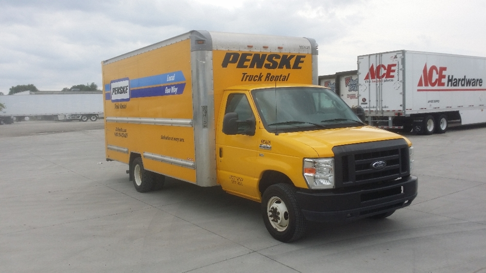 Light Duty Box Truck-Light and Medium Duty Trucks-Ford-2011-E350-DES MOINES-IA-120,959 miles-$11,500