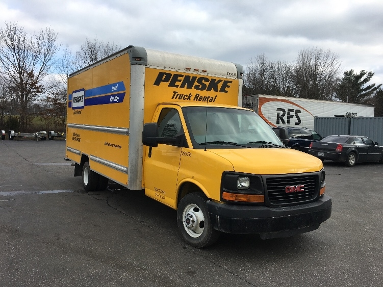 Light Duty Box Truck-Light and Medium Duty Trucks-GMC-2011-Savana G33903-EVANSVILLE-IN-105,238 miles-$13,750