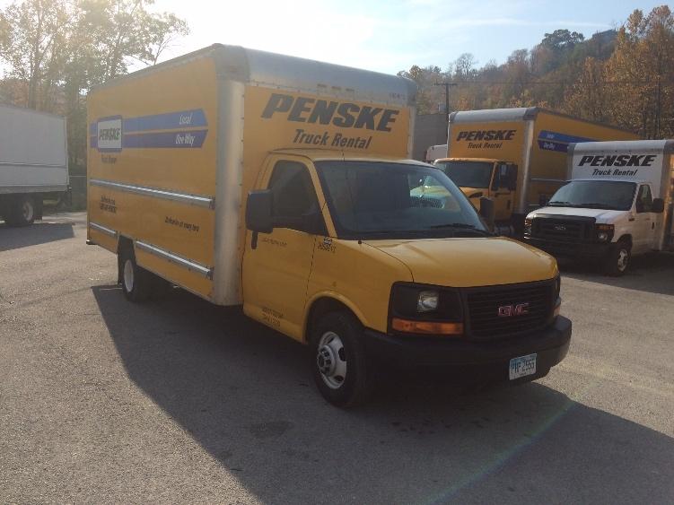 Light Duty Box Truck-Light and Medium Duty Trucks-GMC-2011-Savana G33903-HUNTINGTON-WV-128,501 miles-$11,750