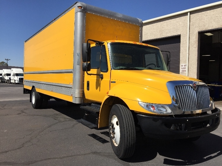 Medium Duty Box Truck-Light and Medium Duty Trucks-International-2011-4300-EL PASO-TX-221,814 miles-$18,000