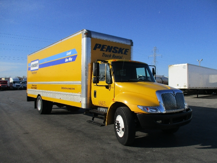 Medium Duty Box Truck-Light and Medium Duty Trucks-International-2011-4300-OKLAHOMA CITY-OK-215,659 miles-$20,000