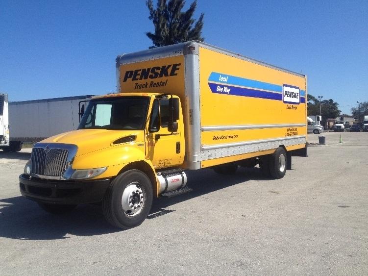 Medium Duty Box Truck-Light and Medium Duty Trucks-International-2011-4300-POMPANO BEACH-FL-244,609 miles-$18,500