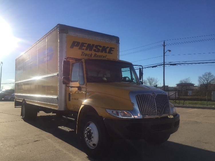 Medium Duty Box Truck-Light and Medium Duty Trucks-International-2012-4300-ALLEN PARK-MI-123,458 miles-$25,500