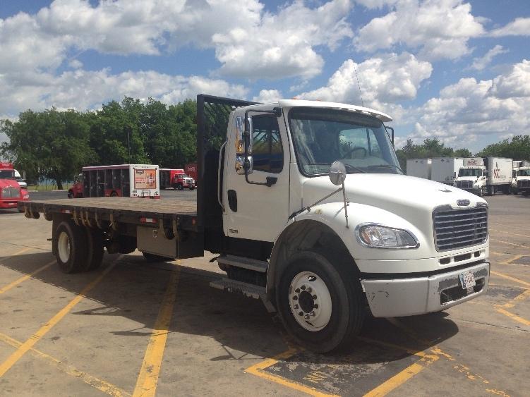 Flatbed Truck-Light and Medium Duty Trucks-Freightliner-2010-M2-TULSA-OK-228,529 miles-$24,750