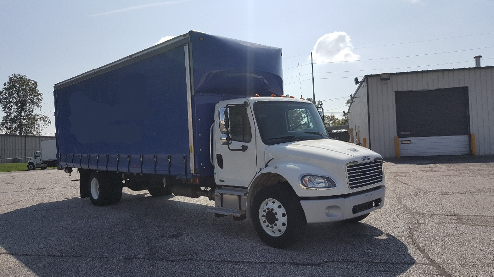 Medium Duty Box Truck-Light and Medium Duty Trucks-Freightliner-2011-M2-ELKHART-IN-114,389 miles-$38,250