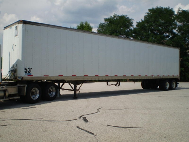 Dry Van Trailer-Semi Trailers-Stoughton-2004-Trailer-ELKHART-IN-1,000 miles-$9,250