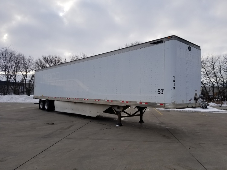 Dry Van Trailer-Semi Trailers-Great Dane-2007-Trailer-GOSHEN-IN-1 miles-$11,500