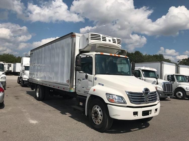 Reefer Truck-Light and Medium Duty Trucks-Hino-2008-268-RICHMOND-VA-280,836 miles-$19,250