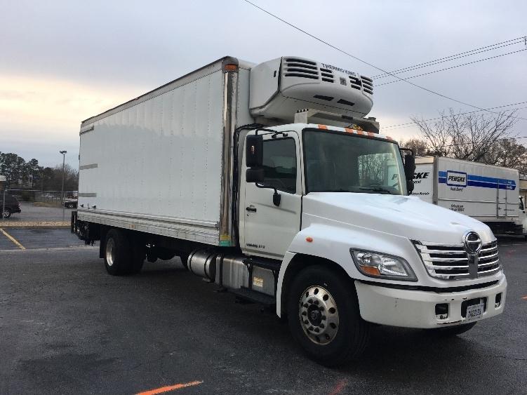 Reefer Truck-Light and Medium Duty Trucks-Hino-2010-268-CHESAPEAKE-VA-267,374 miles-$26,500