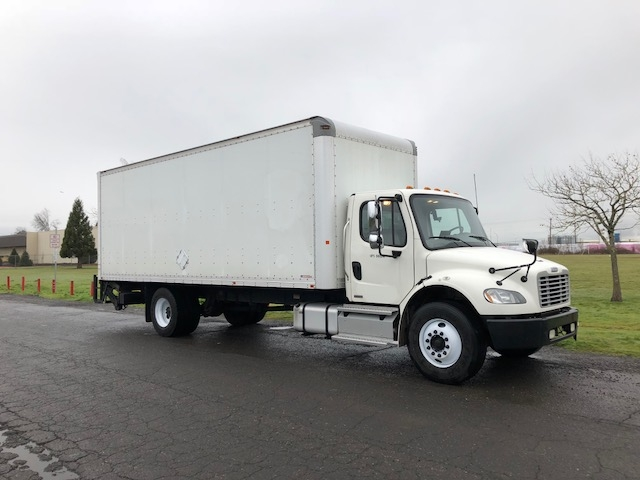 Medium Duty Box Truck-Light and Medium Duty Trucks-Freightliner-2012-M2-PORTLAND-OR-126,258 miles-$43,750