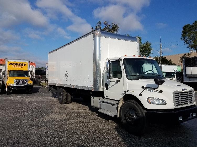 Medium Duty Box Truck-Light and Medium Duty Trucks-Freightliner-2012-M2-ORLANDO-FL-129,960 miles-$43,500